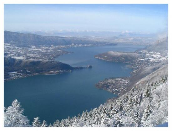Lac d'Annecy - hiver